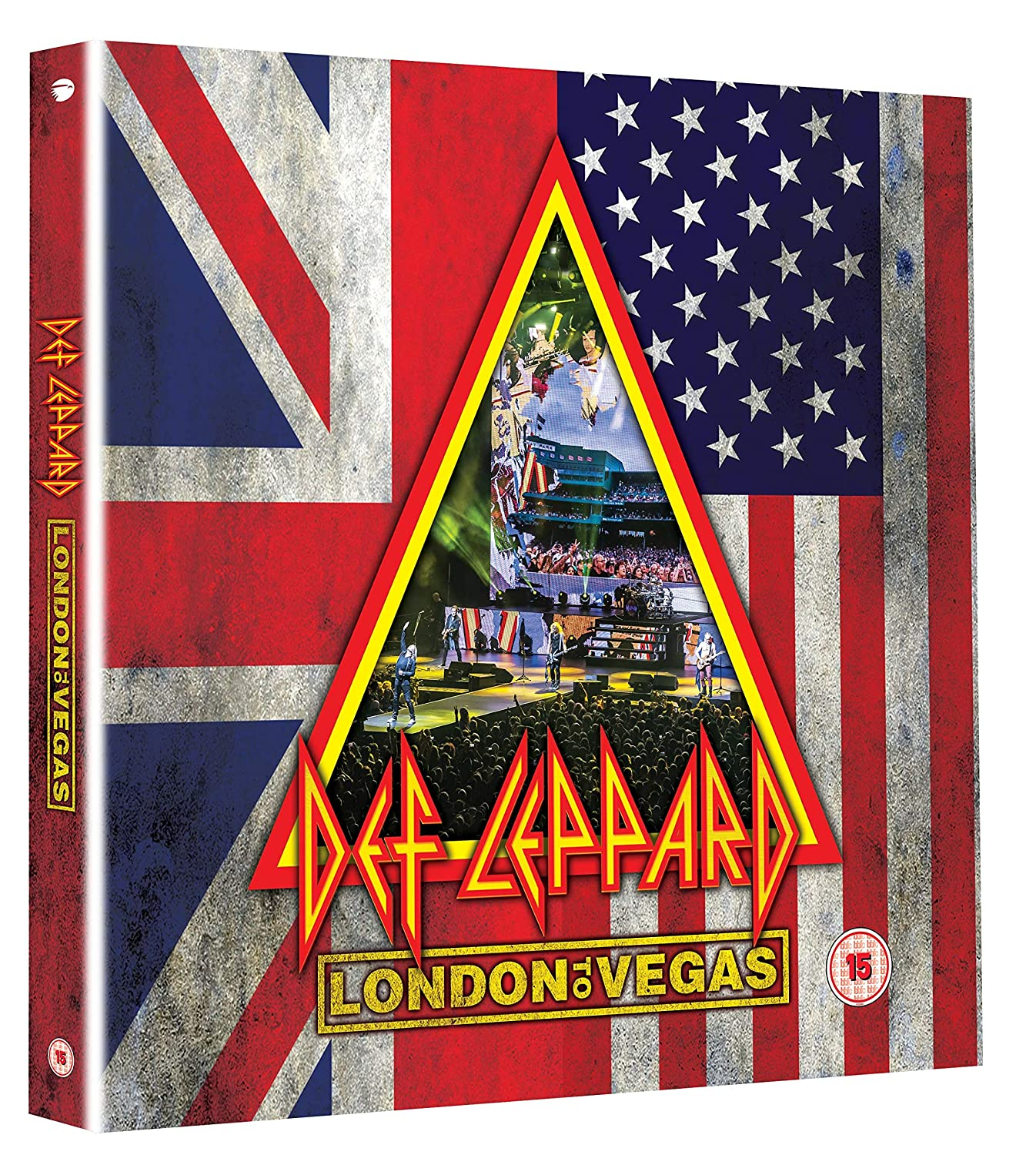 CD Shop - DEF LEPPARD LONDON TO VEGAS/LTD/4CD