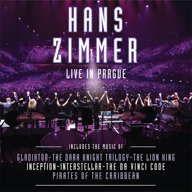 CD Shop - ZIMMER, HANS LIVE IN PRAGUE - 4LP