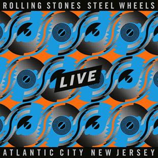 CD Shop - ROLLING STONES STEEL WHEELS LIVE