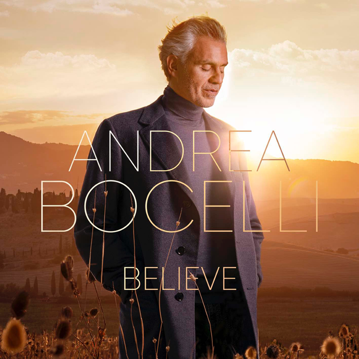 CD Shop - BOCELLI ANDREA BELIEVE