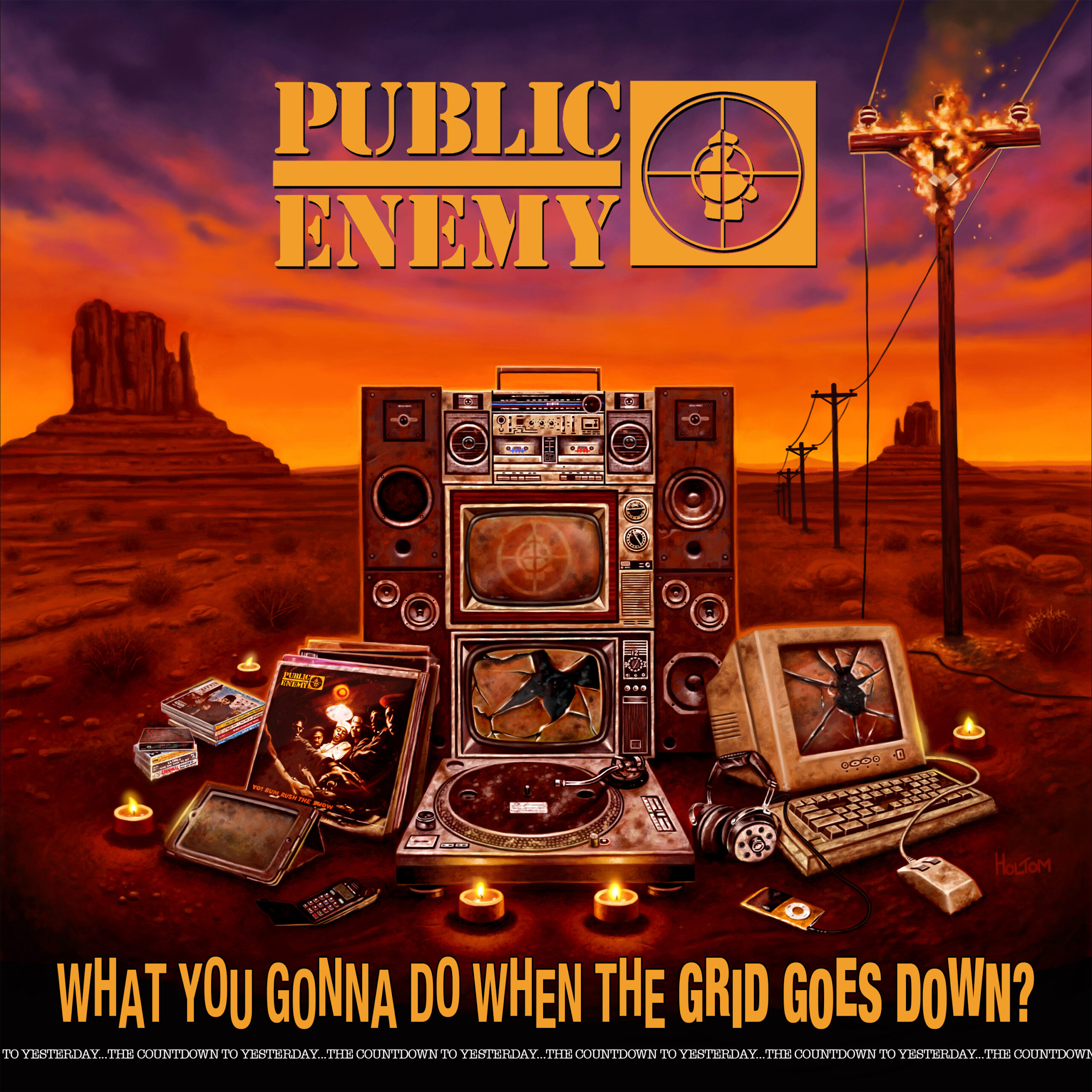 CD Shop - PUBLIC ENEMY What You Gonna Do When The Grid Goes Down?