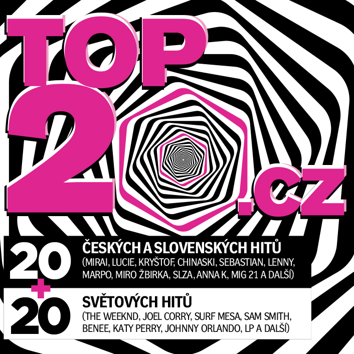 CD Shop - RUZNI/POP NATIONAL TOP20.CZ 2020/2