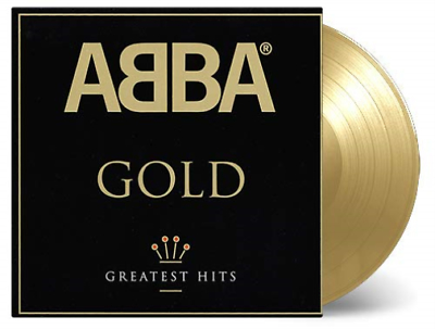 CD Shop - ABBA GOLD (gold vinyl edition)