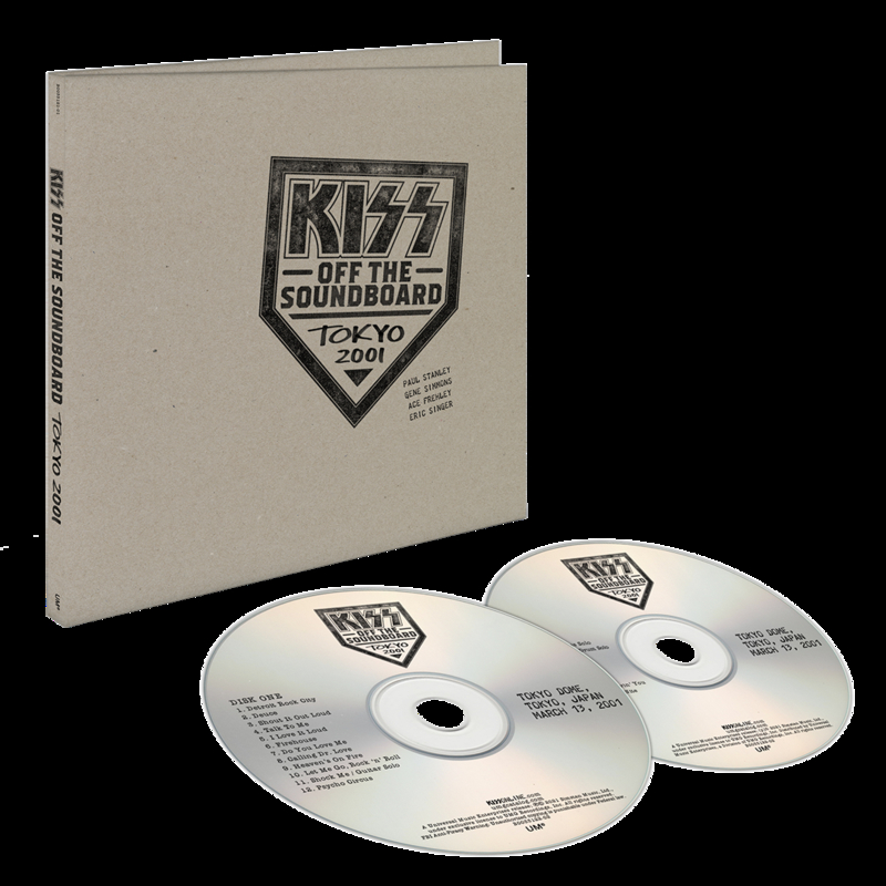 CD Shop - KISS KISS OFF THE SOUNDBOARD: TOKYO 2001