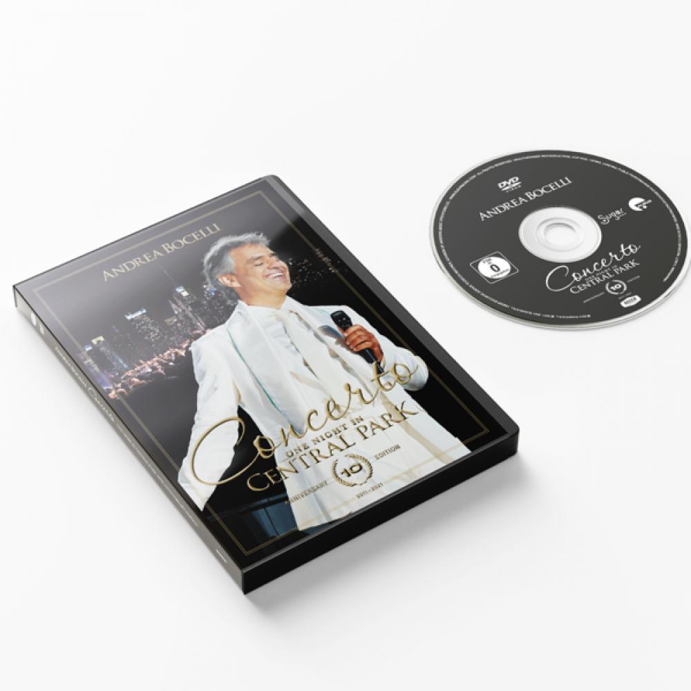 CD Shop - BOCELLI ANDREA Concerto: One night in Central Park - 10th Anniversary