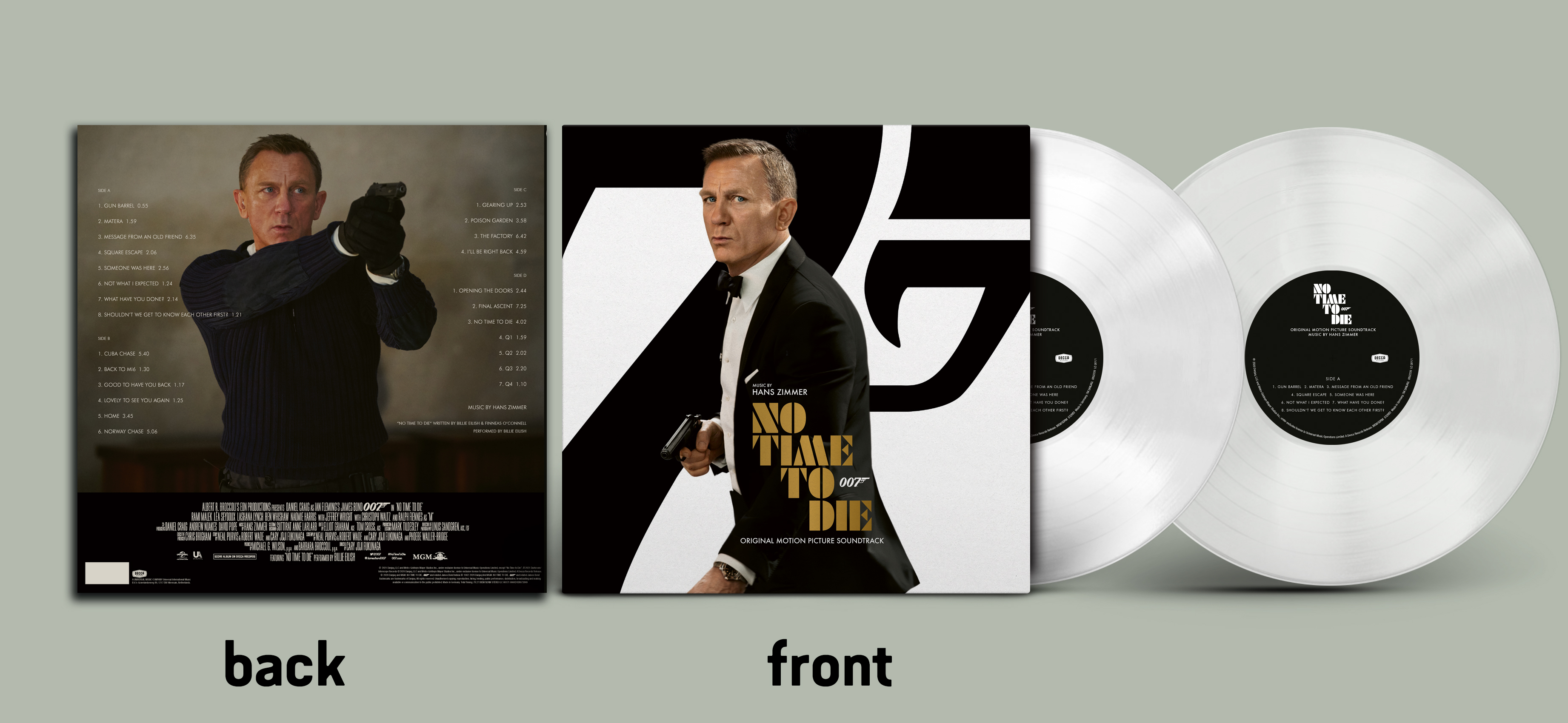 CD Shop - SOUNDTRACK No Time To Die