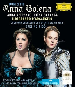CD Shop - NETREBKO/GANANCA ANNA BOLENA