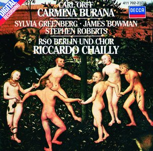 CD Shop - CHAILLY/RSO BERLIN CARMINA BURANA