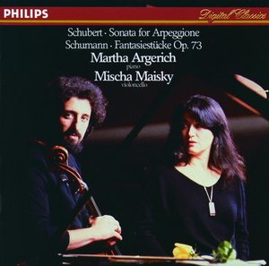 CD Shop - ARGERICH/MAISKY ARPEGGIONE SON./FANT.KUSY