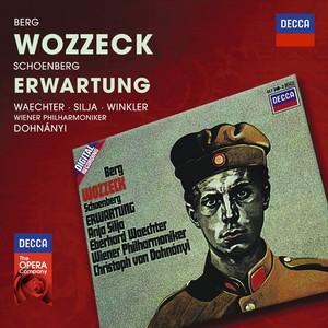 CD Shop - DOHNANYI/WPH WOZZECK/ERWARTUNG