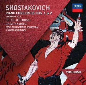 CD Shop - ASHKENAZY/ROYAL PHIL.ORCH. KLAVIRNI.KONC.1,2/SYMFONIE
