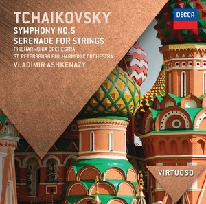 CD Shop - ASHKENAZY/PO SYMFONIE 5/SERENADA