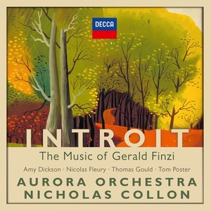 CD Shop - COLLON/AURORA ORCHESTRA INTROIT:MUSIC OF G.FINZI