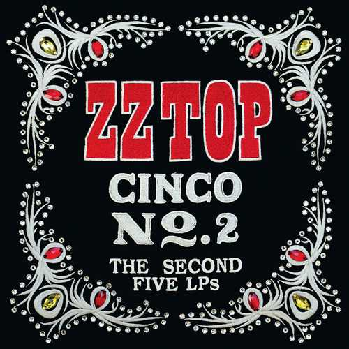 CD Shop - ZZ TOP CINCO: THE SECOND FIVE LPS
