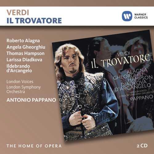 CD Shop - ALAGNA/GHEORGHIU/PAPPANO VERDI: IL TROVATORE