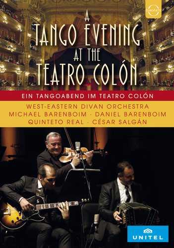 CD Shop - BARENBOIM/SALGAN/WEST-EASTERN DIVAN ORCHESTRA/BARENBOIM EUROARTS - WEDO AT THE TEATRO COLON - A TANGO EVENING WITH GINASTERA AND SALGAN