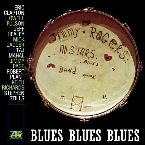 CD Shop - ROGERS, JIMMY ALL STARS BLUES BLUES BLUES
