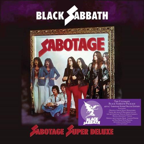 CD Shop - BLACK SABBATH SABOTAGE (SUPER DELUXE BOX SET)