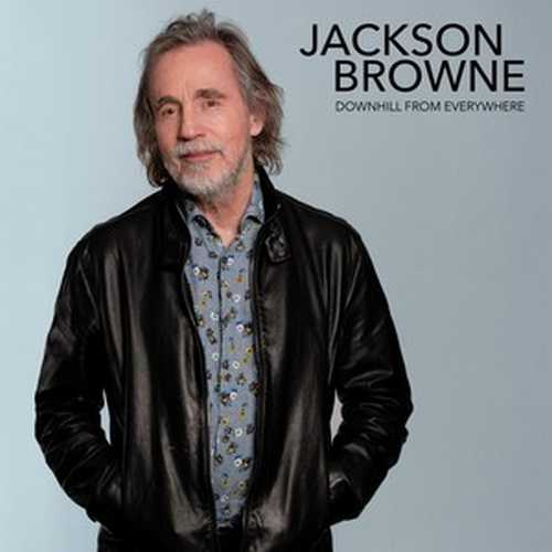 CD Shop - BROWNE, JACKSON DOWNHILL FROM EVERYWHERE/A LITTLE SOON TO SAY