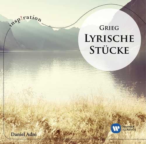 CD Shop - ADNI GRIEG: LYRISCHE STÜCKE LYRIC PIECES