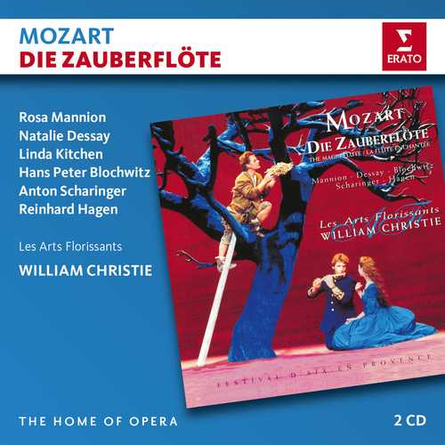 CD Shop - CHRISTIE/ARTS FLORISSANTS/DESSAY/MANNION MOZART: DIE ZAUBERFLOTE