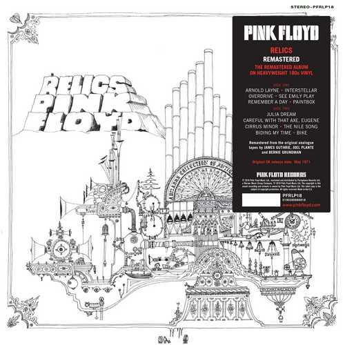 CD Shop - PINK FLOYD RELICS