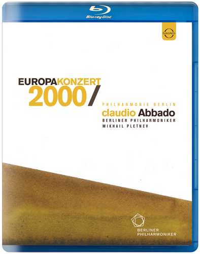CD Shop - ABBADO/BERLINER PHILHARMONIKER BPO EUROPAKONZERT - 2000 FROM BERLIN - CLAUDIO ABBADO - BLU-RAY