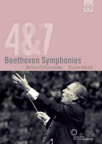 CD Shop - ABBADO, CLAUDIO BEETHOVEN: SYMPHONIES 4 AND 7 (ABBADO)