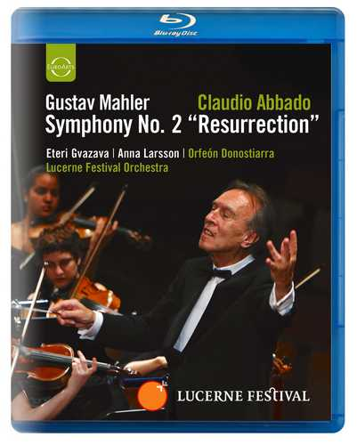 CD Shop - ABBADO, CLAUDIO ABBADO CONDUCTS THE LUCERNE FESTIVAL ORCHESTRA - MAHLER: SYMPHONY NO.2 - BLU-RAY