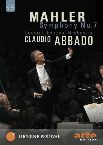 CD Shop - ABBADO, CLAUDIO ABBADO CONDUCTS THE LUCERNE FESTIVAL ORCHESTRA, MAHLER: SYMPHONY NO.7
