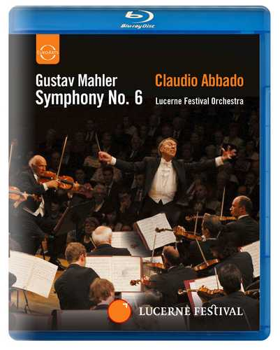 CD Shop - ABBADO, CLAUDIO ABBADO CONDUCTS THE LUCERNE FESTIVAL ORCHESTRA - MAHLER: SYMPHONY NO.6 - BLU-RAY
