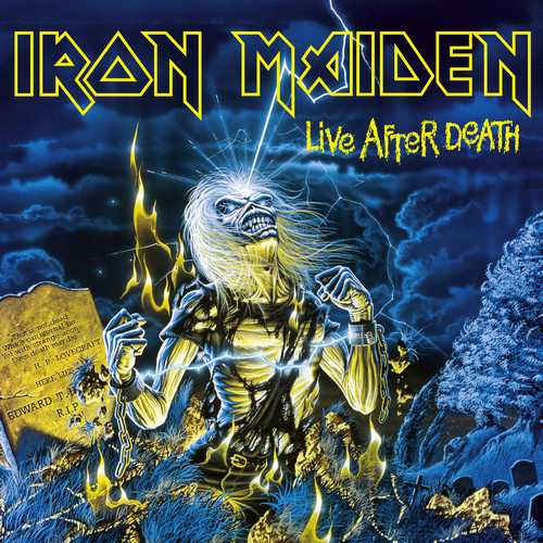CD Shop - IRON MAIDEN LIVE AFTER DEATH
