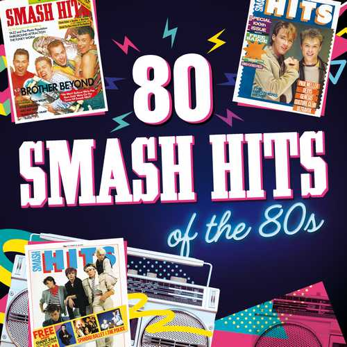 CD Shop - VARIOUS ARTISTS SMASH HITS 80 HITS OF THE 80S