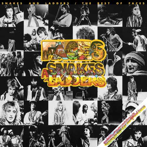 CD Shop - FACES, THE SNAKES AND LADDERS: THE BEST OF FACES