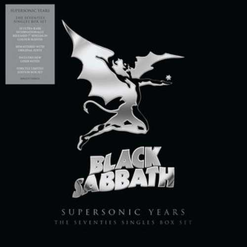 CD Shop - BLACK SABBATH BLACK SABBATH – SUPERSONIC YEARS: THE SEVENTIES SINGLES BOX SET