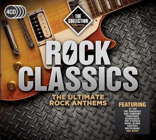CD Shop - VARIOUS ARTISTS ROCK CLASSICS - THE COLLECTION