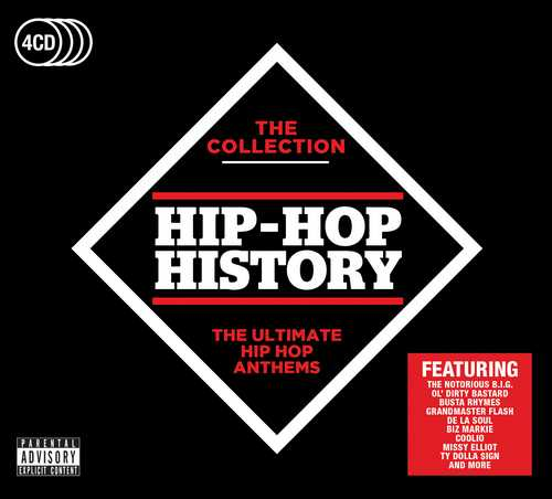 CD Shop - VARIOUS ARTISTS HIP-HOP HISTORY - THE COLLECTION