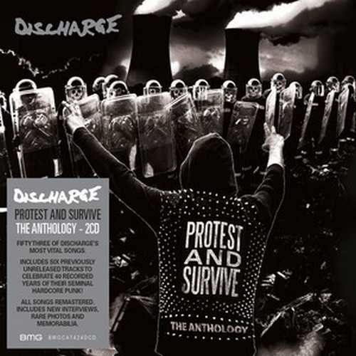 CD Shop - DISCHARGE PROTEST AND SURVIVE : THE ANTHOLOGY