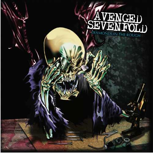 CD Shop - AVENGED SEVENFOLD DIAMONDS IN THE ROUGH