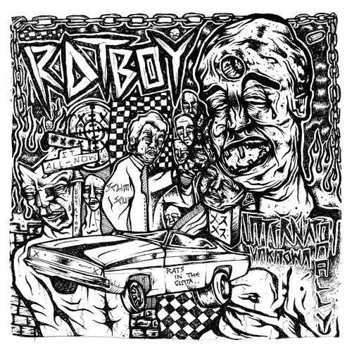 CD Shop - RAT BOY INTERNATIONALLY UNKNOWN