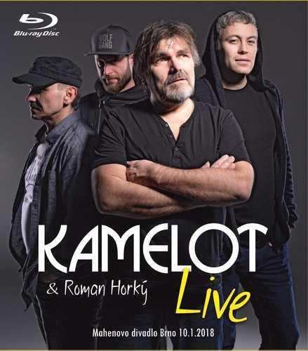 CD Shop - KAMELOT LIVE (MAHENOVO DIVADLO BRNO 10.1.2018)