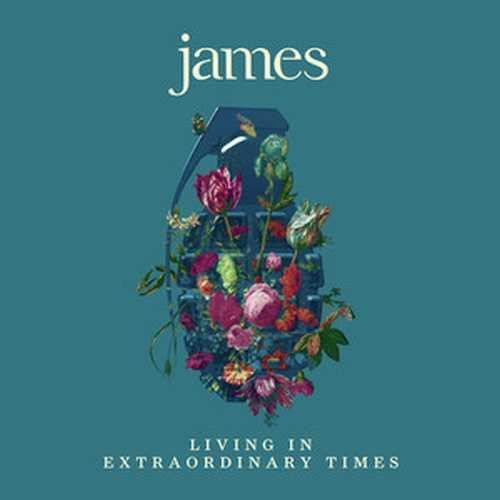 CD Shop - JAMES LIVING IN EXTRAORDINARY TIMES