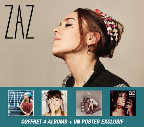 CD Shop - ZAZ COFFRET (5CD + 1DVD)