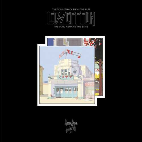 CD Shop - LED ZEPPELIN THE SONG REMAINS THE SAME (2CD+3DVD+4LP)