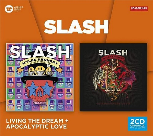 CD Shop - SLASH LIVING THE DREAM & APOCALYPTIC LOVE