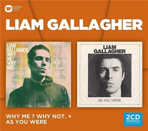 CD Shop - GALLAGHER, LIAM WHY ME? WHY NOT (ED STD) & AS YOU WERE