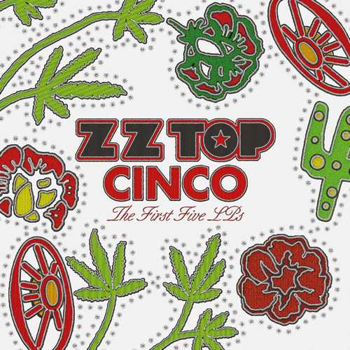 CD Shop - ZZ TOP CINCO: THE FIRST FIVE