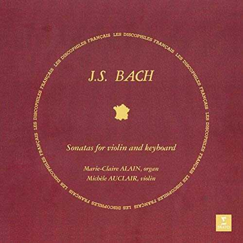 CD Shop - ALAIN/AUCLAIR BACH: SONATAS FOR VIOLIN AND KEYBOARD