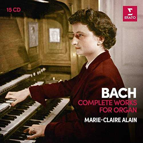 CD Shop - ALAIN, MARIE-CLAIRE BACH: COMPLETE ORGAN WORKS (1ST ANALOGUE VERSION)