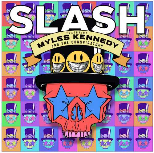CD Shop - SLASH FEAT. KENNEDY, MYLES & THE CONSPIRATORS LIVING THE DREAM